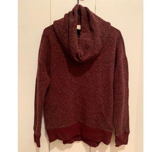 A&F Cowl Neck Sweater Small